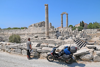 Ταξίδι με Honda Supra-X 125 στην αρχαία Ιωνία και Λυκία …σεργιάνι στην Αρχαία Ιστορία