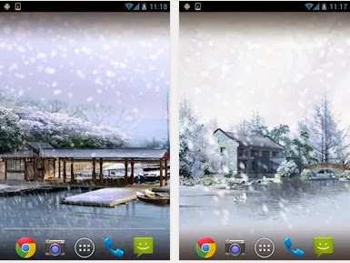 Winter Snow Live Wallpaper For Android Download App Free
