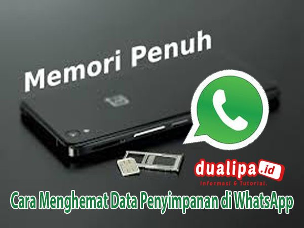 Cara Menghemat Data Penyimpanan di WhatsApp