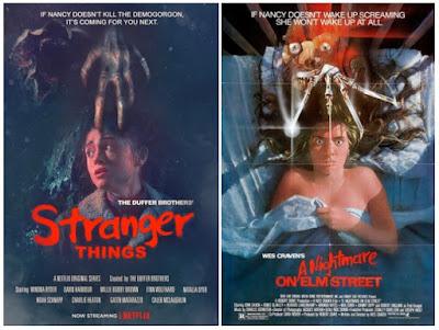 Pósters de películas Stranger Things - Pesadilla en Elm Street