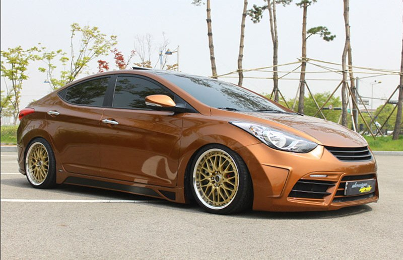 elantra custom bodykit