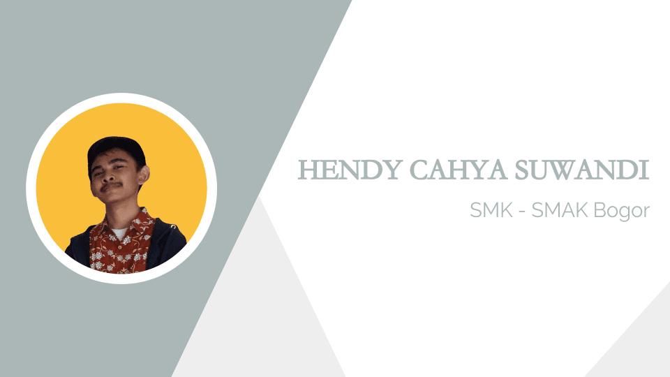Hendy Cahya Suwandi