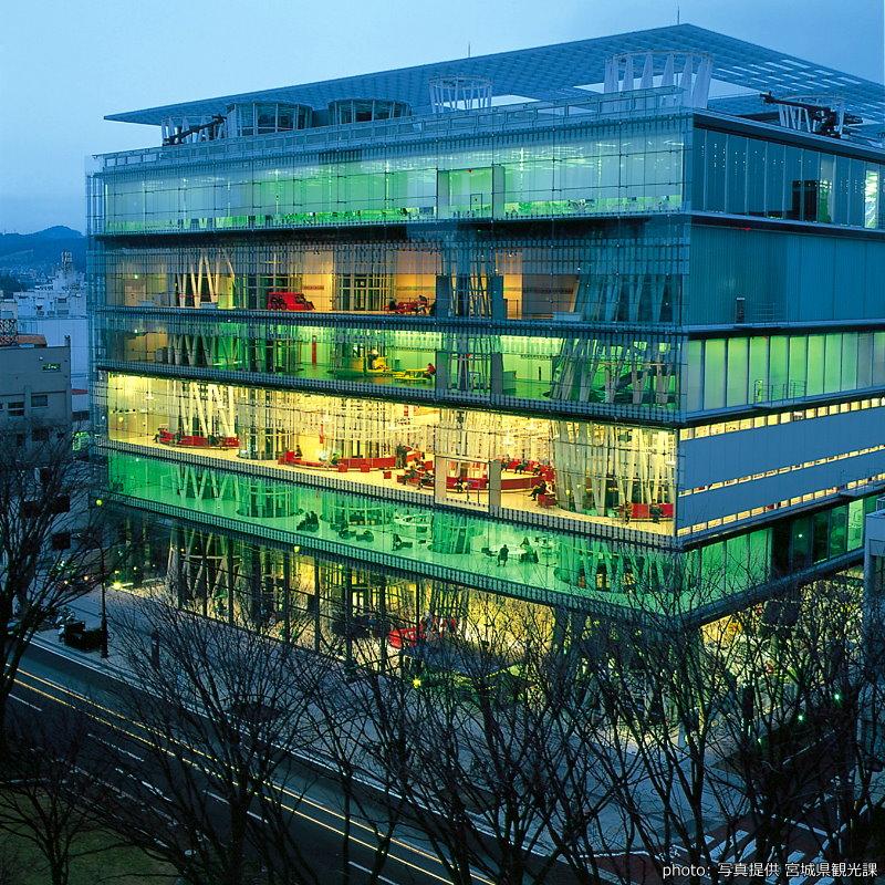 【仙台媒體中心】關於新世紀圖書館的想像