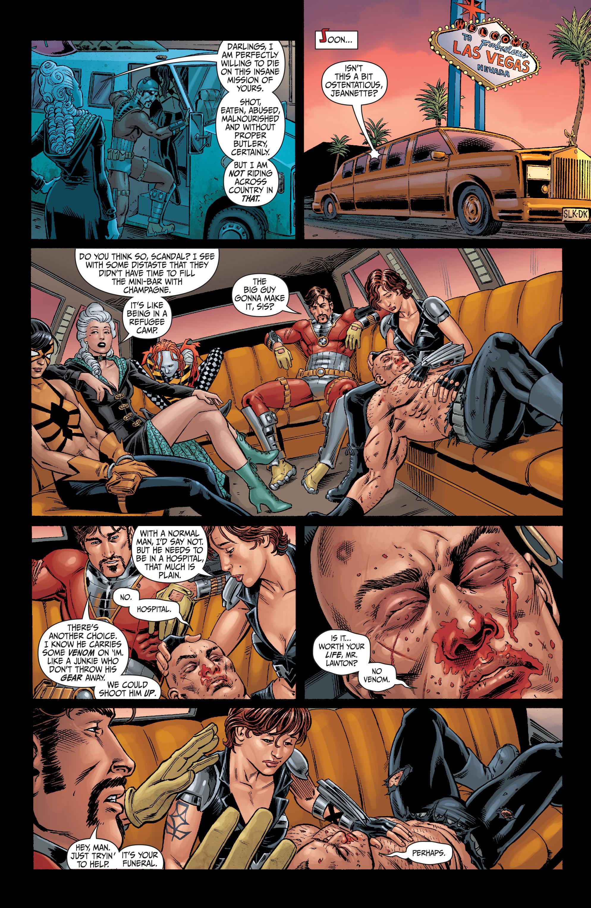 Read online Secret Six (2008) comic -  Issue #6 - 9