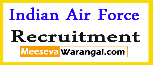 Indian Air Force Jobs Notification 2017