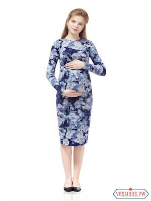 vestidos para embarazadas de coctel