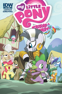 MLP Friends Forever #21 Comic by IDW Regular Cover by Amy Mebberson