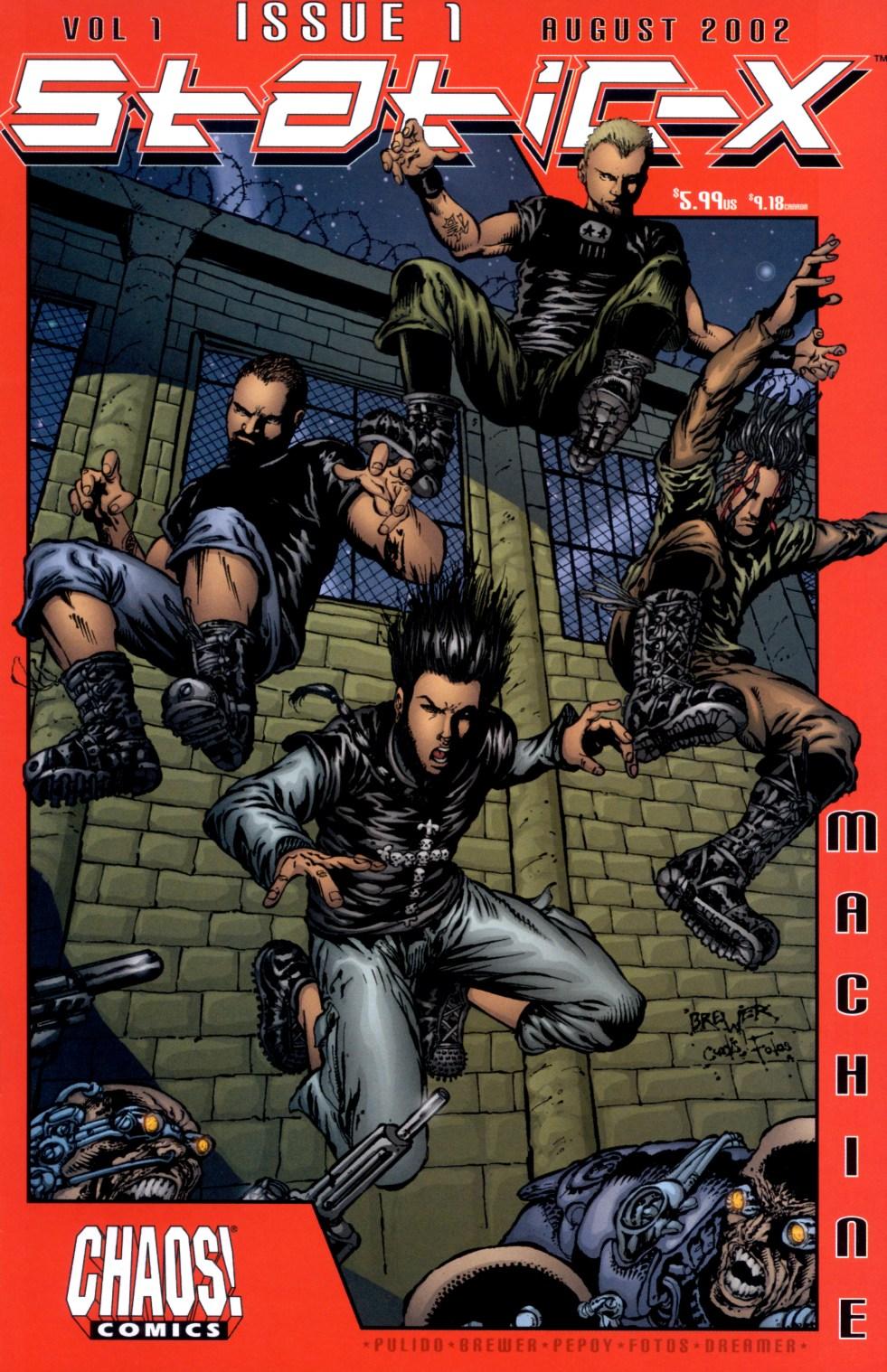 Read online Static-X: Machine comic -  Issue # Full - 1