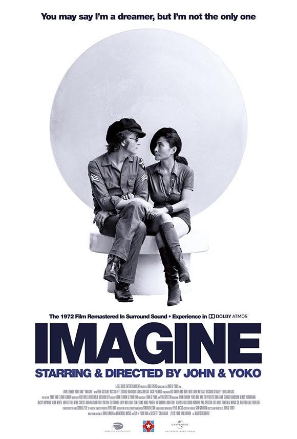«Imagine» de John Lennon et Yoko Ono de retour au cinéma