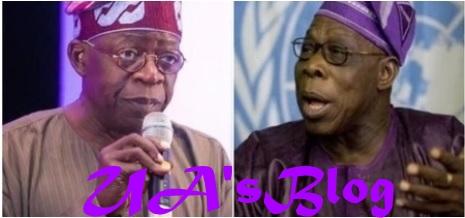 Tinubu reacts to Obasanjo's letter to President Buhari
