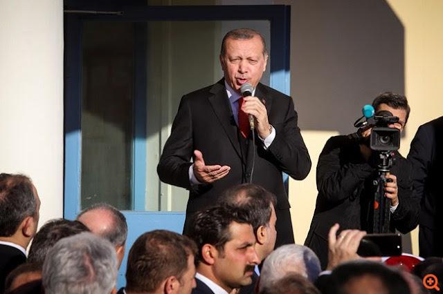 Κομοτηνή: Συνθήματα υπέρ Ερντογάν, από λίγους μουσουλμάνους