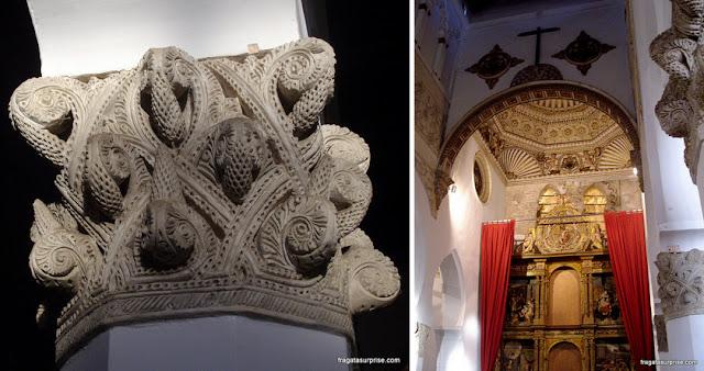 Sinagoga de Santa Maria la Blanca, Toledo, Espanha