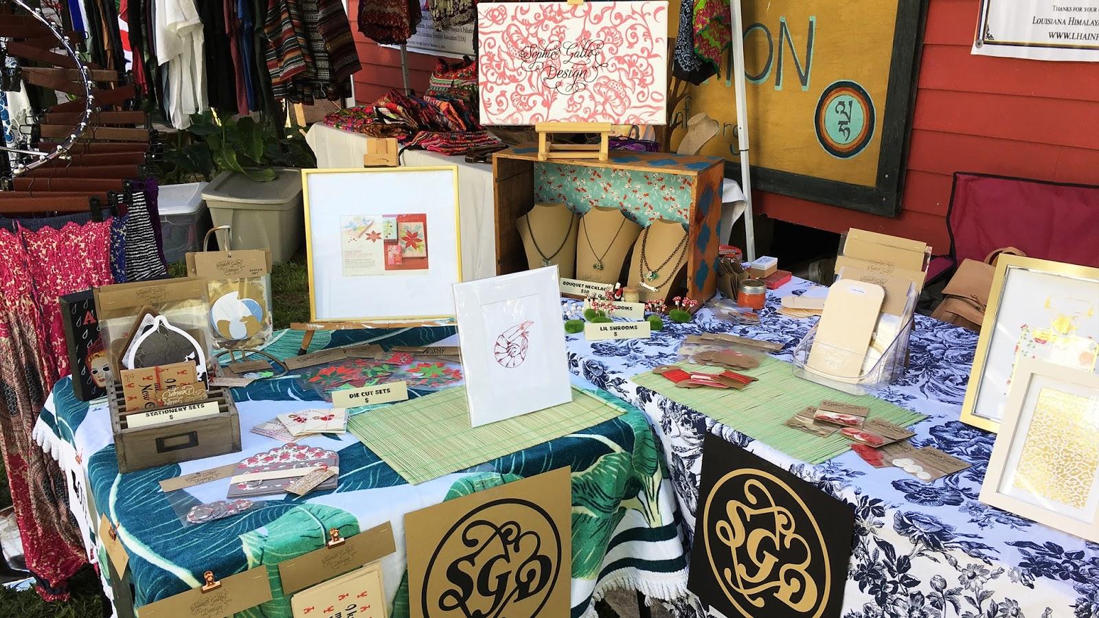 sophie gallo design blog easter craft fair