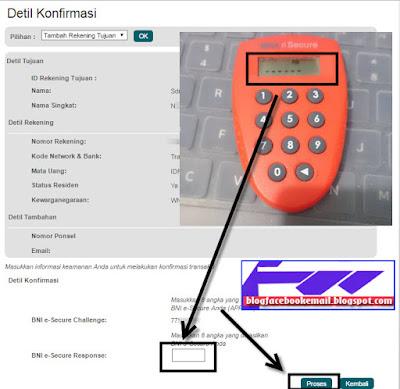 cara transfer BNI internet banking online