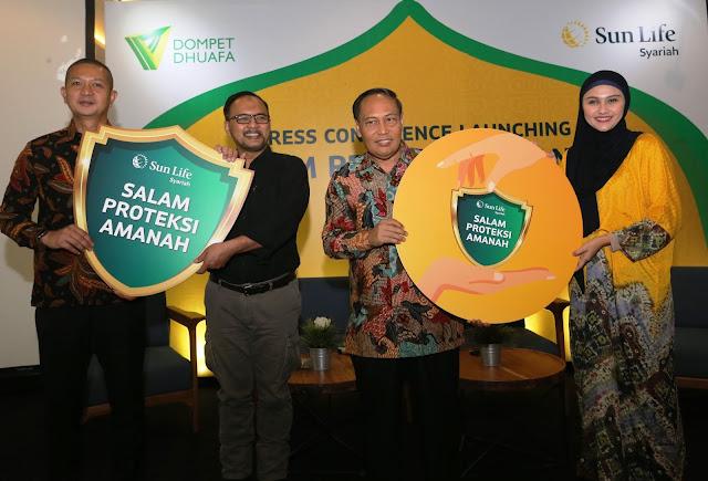 Sun Life Financial Berkolaborasi Dengan Dompet Dhuafa