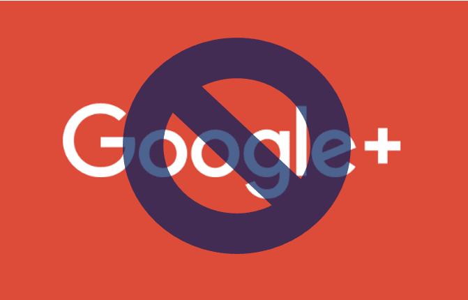 Akun Google+ ditutup