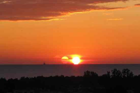 sunrise mail an taskleiste anheften