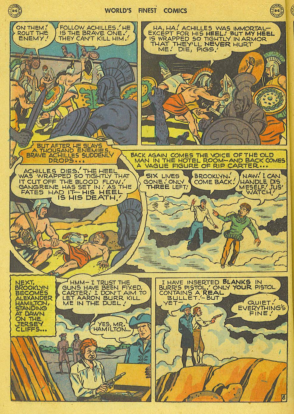 Read online World's Finest Comics comic -  Issue #34 - 34