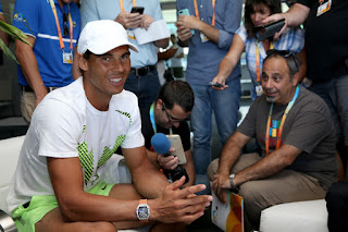 Photos: Rafa Nadal at Media Day in Miami