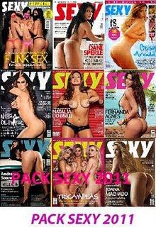 Download Pack Todas Revistas Sexy 2011