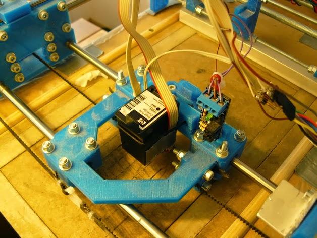 DIY 3D Printing: 3DP - inkjet powder 3D printer