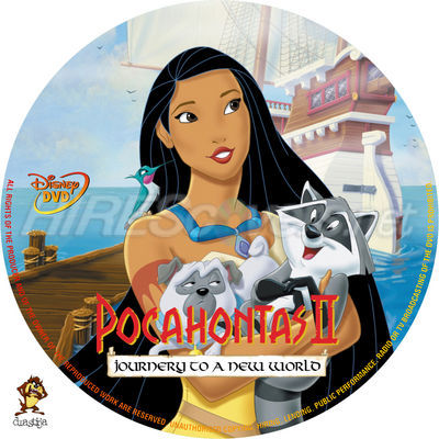 DVD Pocahontas II: Journey to a New World 1998