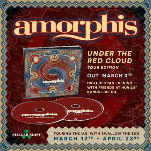 "AMORPHIS: Το ""Under The Red Cloud"" σε tour edition"