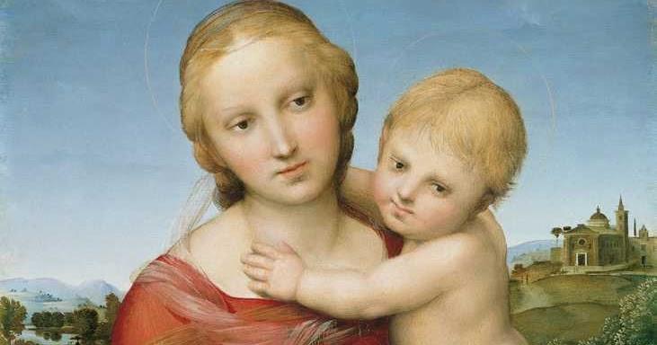 Professione Donna Schema a punto croce Madonna con