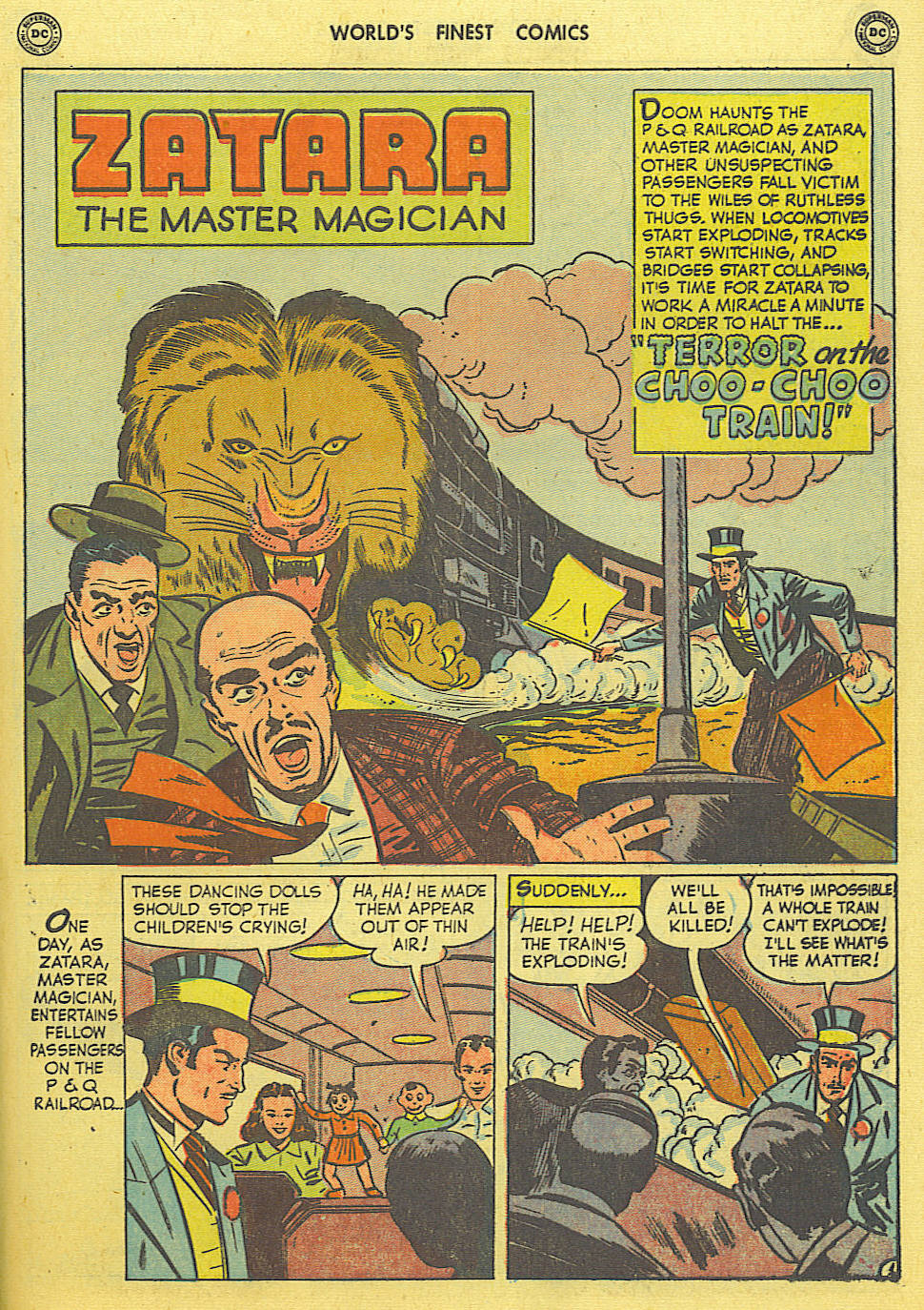 Read online World's Finest Comics comic -  Issue #49 - 52