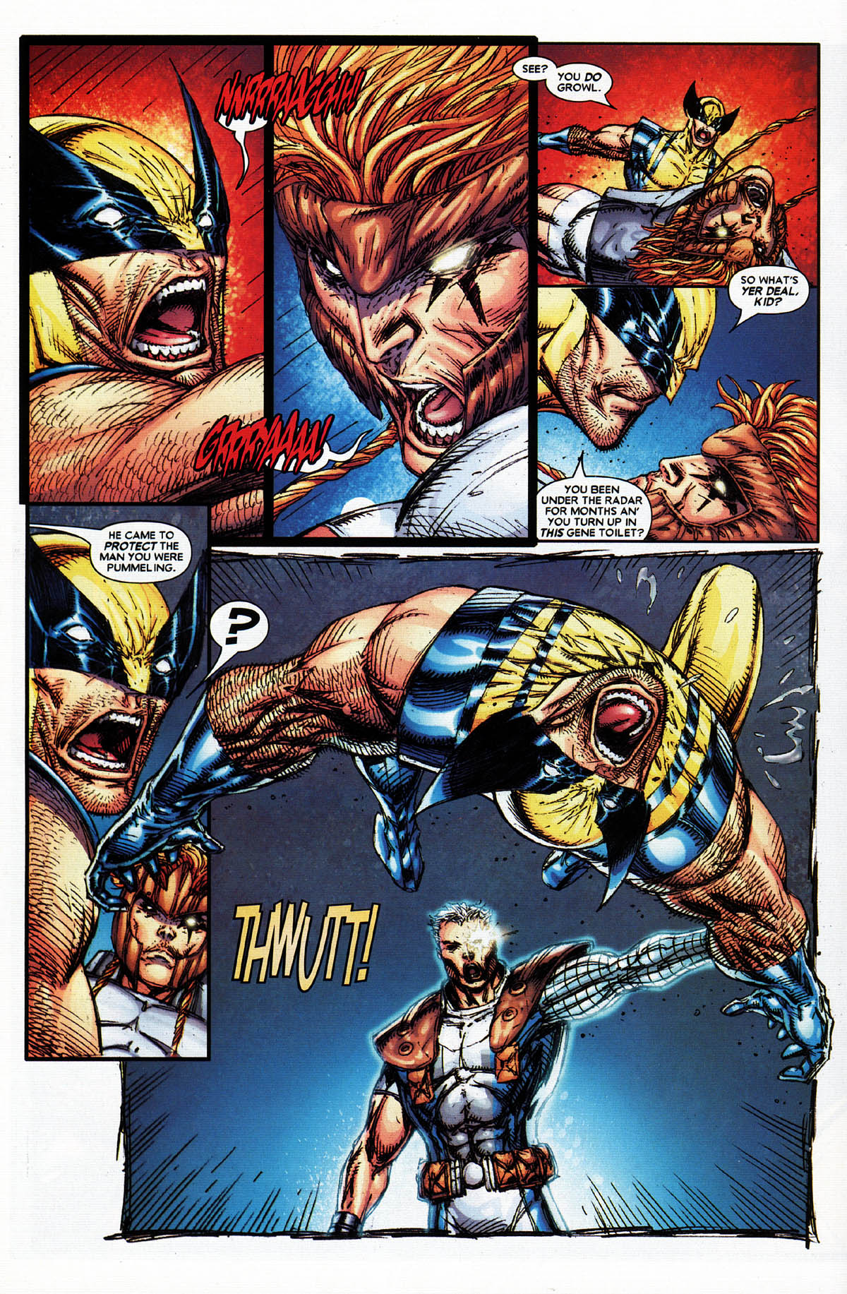 Read online X-Force (2004) comic -  Issue #4 - 16