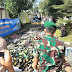 Yonif PR 305/Tengkorak Dukung Pemberantasan Peredaran Miras di Karawang