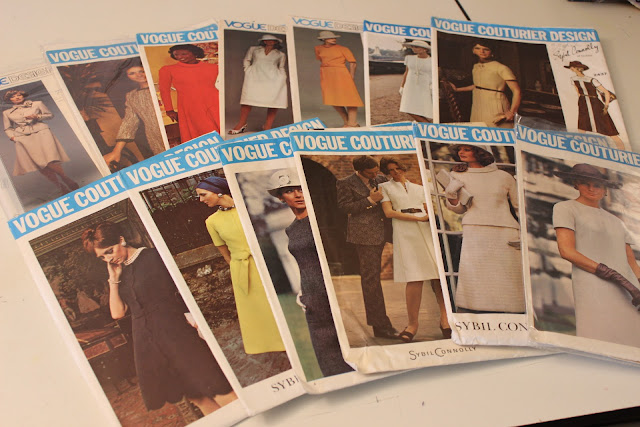 Diary of a Sewing Fanatic: Pattern Collecting - Past Present & Future