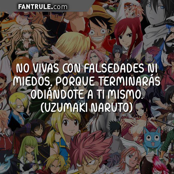 Imágenes con frases de anime manga japones amor tristes sad románticas profundas de reflexión Uzumaki Naruto