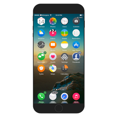 360 ios9 is the most popular theme and is now updated with circular silver ring style and includes iwidgets, wallpaper and more. You can get this from ModMyi repo for $2.50 and is compatible with iOS 9.
