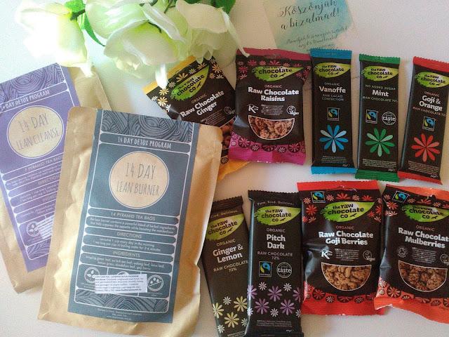 Egeszseges nassolas nyers csokikkal + Stay Lean Tea detox program