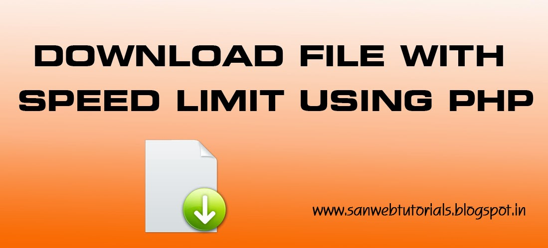 download file script with speed limit