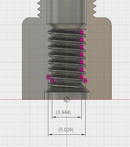 Non-Standard Threads with Fusion 360: Schrader to Presta