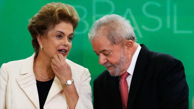 Rousseff y Lula son sometidos a una nueva investigación judicial