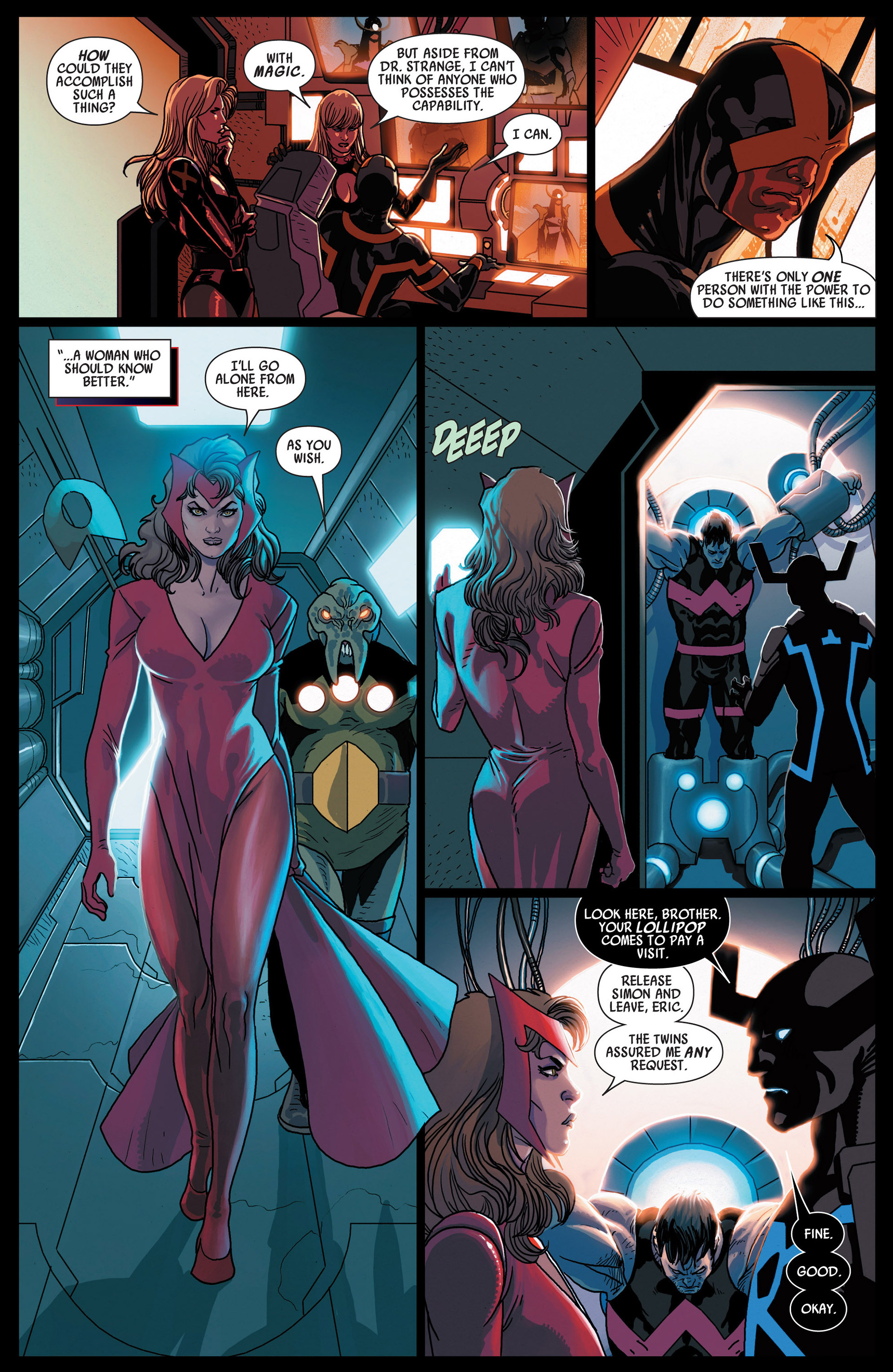 Read online Uncanny Avengers (2012) comic -  Issue #12 - 7