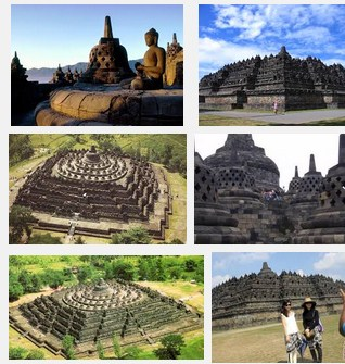 The Historic Sights Of Borobudur Temple