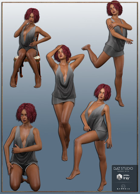 Sweet Attitude Poses for Genesis 3 Female