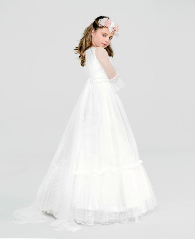 Vestido de Comunión diseñadora Isabel Zapardiez 2016