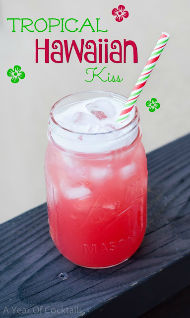 Tropical Hawaiian Kiss, cocktail