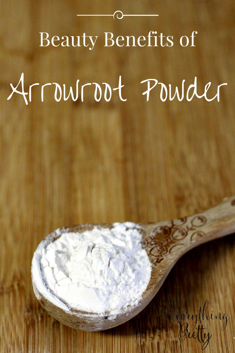 arrowroot powder benefits for skin and hair