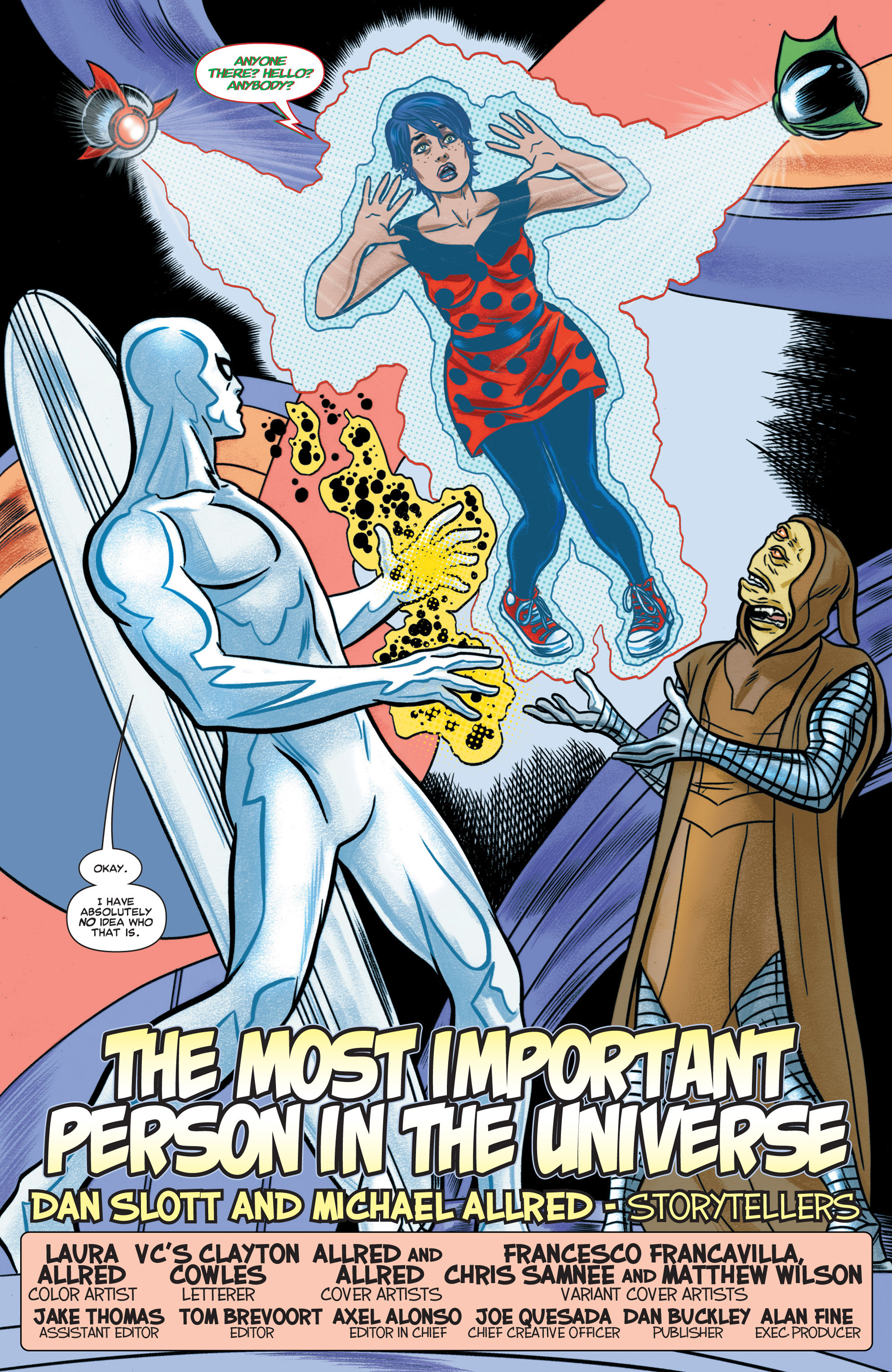 Read online Silver Surfer (2014) comic -  Issue #1 - 19