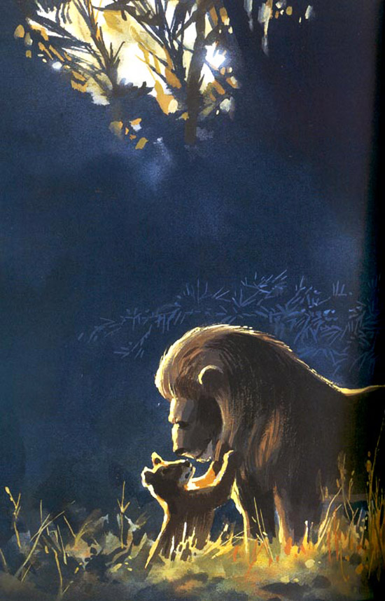 Living Lines Library The Lion King 1994  Color Keys