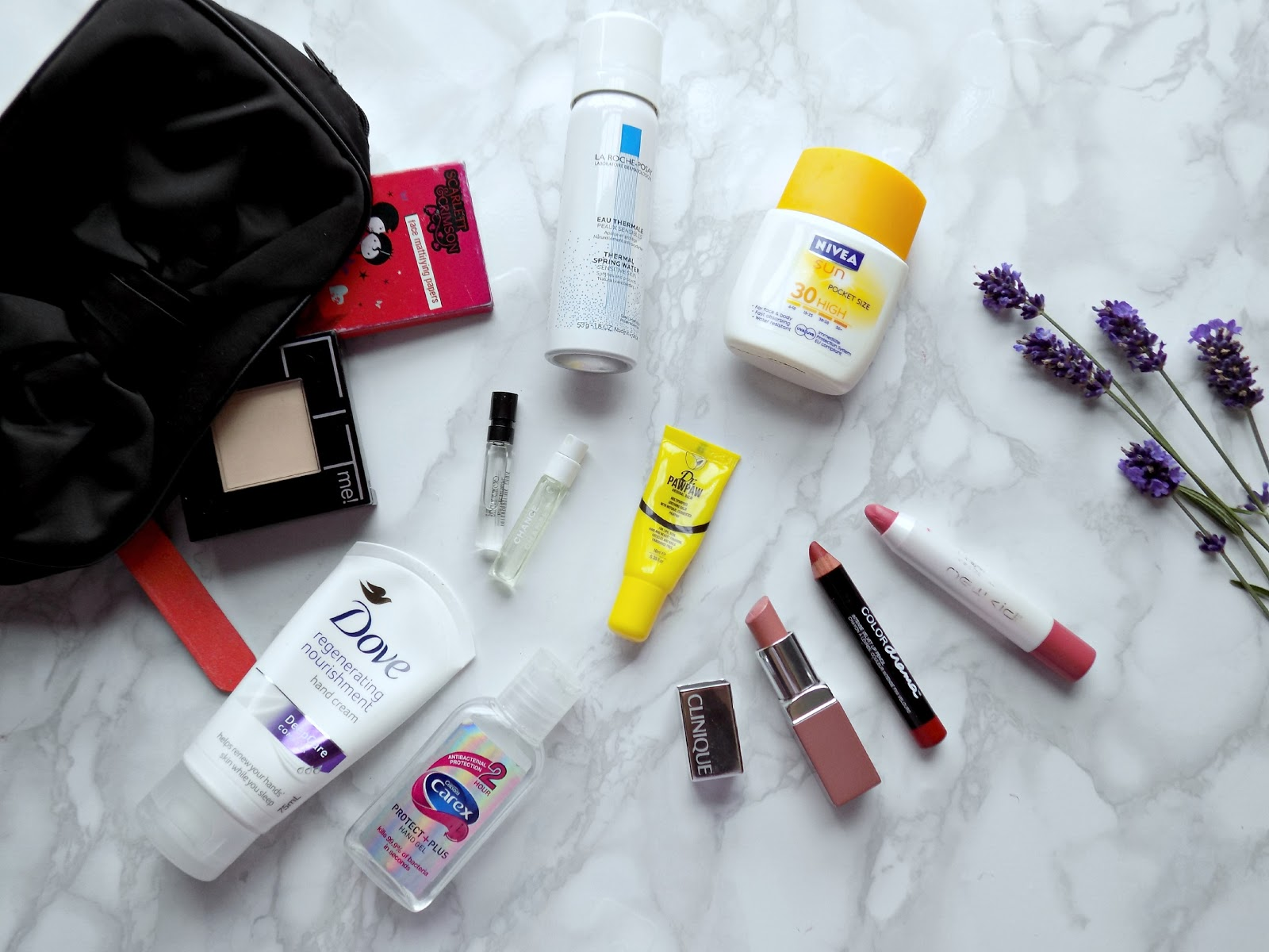 Summer handbag beauty essentials