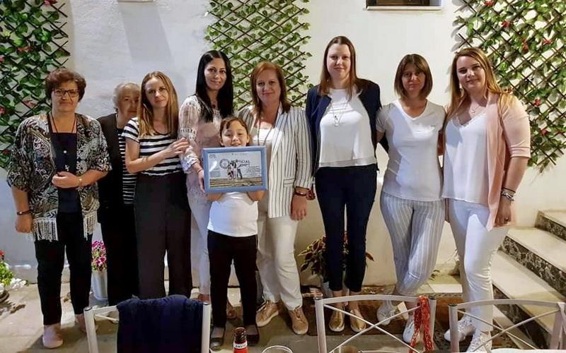 Ο Σύλλογος Γυναικών Νέας Βύσσας τίμησε την γυναίκα που κατέρριψε το Ρεκόρ Γκίνες