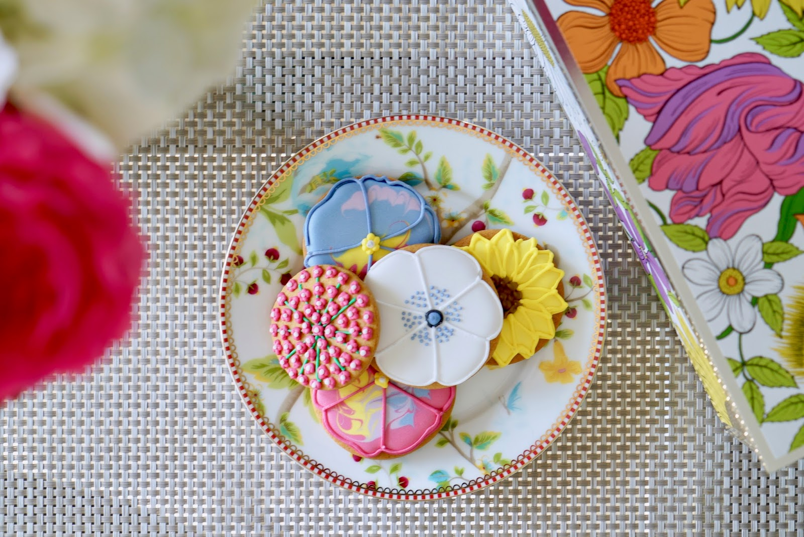 Biscuiteers mother's day biscuits