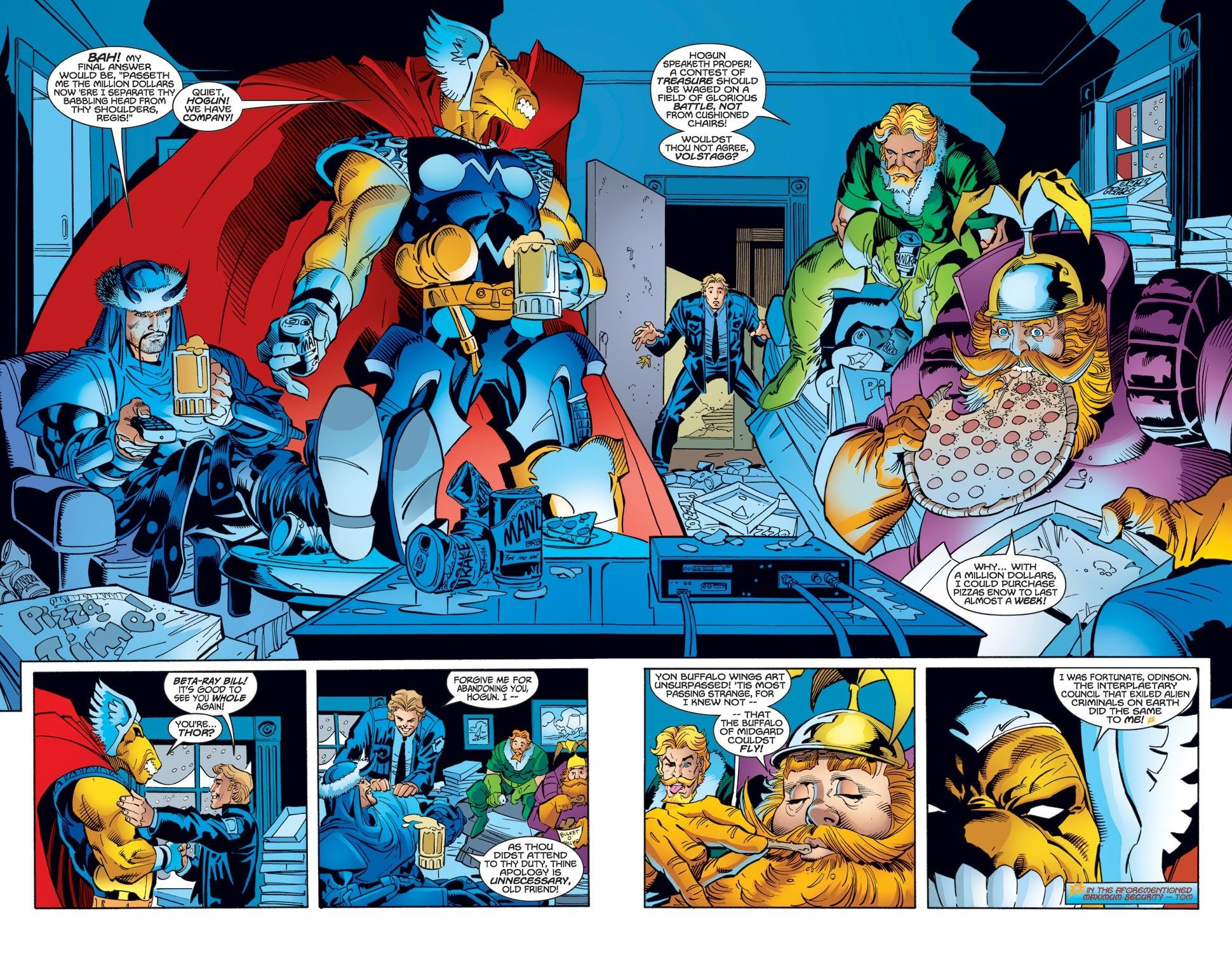 Thor (1998) Issue #31 #32 - English 9